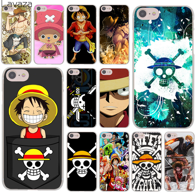 the best attitude 4ccb8 98240 US $1.71 33% OFF|Lavaza One Piece Luffy Anime Hard Cover Case for iPhone X  XS Max XR 6 6S 7 8 Plus 5 5S SE 5C 4S 10 Phone Cases 7Plus 8Plus-in ...