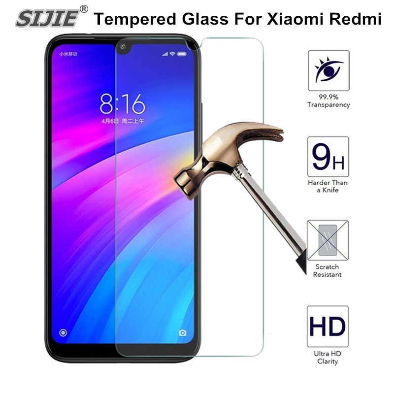 Tempered Glass For XIAOMI REDMi 7 7A 5 plus 5A 6 6A 4X Redmi NOTE 7 6 5 PRO K20 Pro Global Screen protective 9H film cover-in Phone Screen Protectors from Cellphones & Telecommunications
