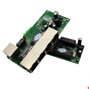 Image 5 - Hohe qualität mini günstige preis 5 port schalter modul manufaturer unternehmen PCB board 5 ports ethernet netzwerk schalter modul