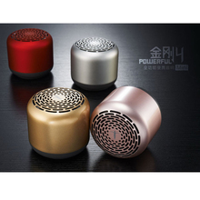 King kong four mini bluetooth speaker four.zero wi-fi sound loudspeaker Subwoofer steel nondestructive audio playback Arms-free calls