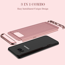 FLOVEME 3in1 Armor Case for Samsung Galaxy S8, S8 Plus, S7, S7Edge, S6, Note 8, J5 J7 2015