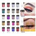 1 Pc 36 Farben Lidschatten Gesicht Körper Haar Augen Make-Up Glitter Hochglanz Schimmer Pulver Aufheller Nail art Glitter Pulver TSLM1