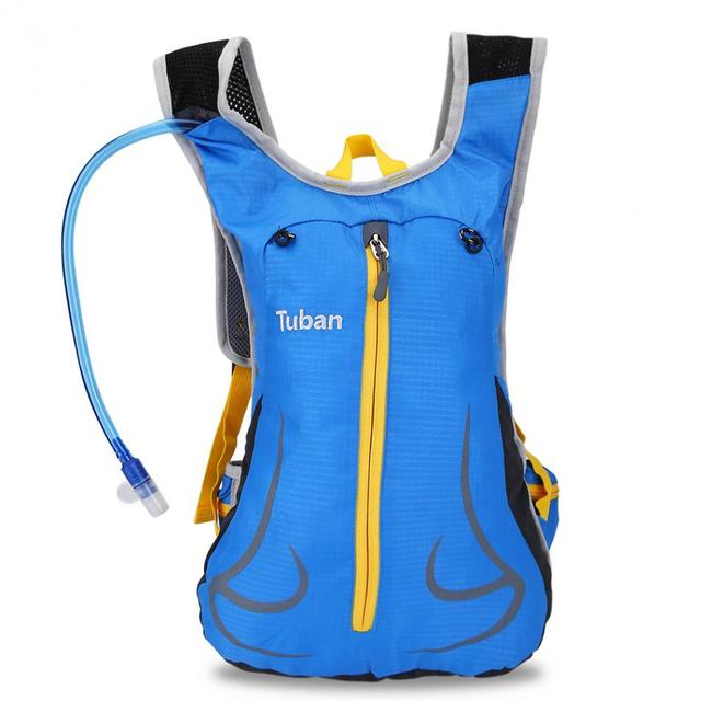 Tuban 2l Water Hydration Bladder Bag Backpack Outdoor Sports Running Cycling Shoulder Back Pack