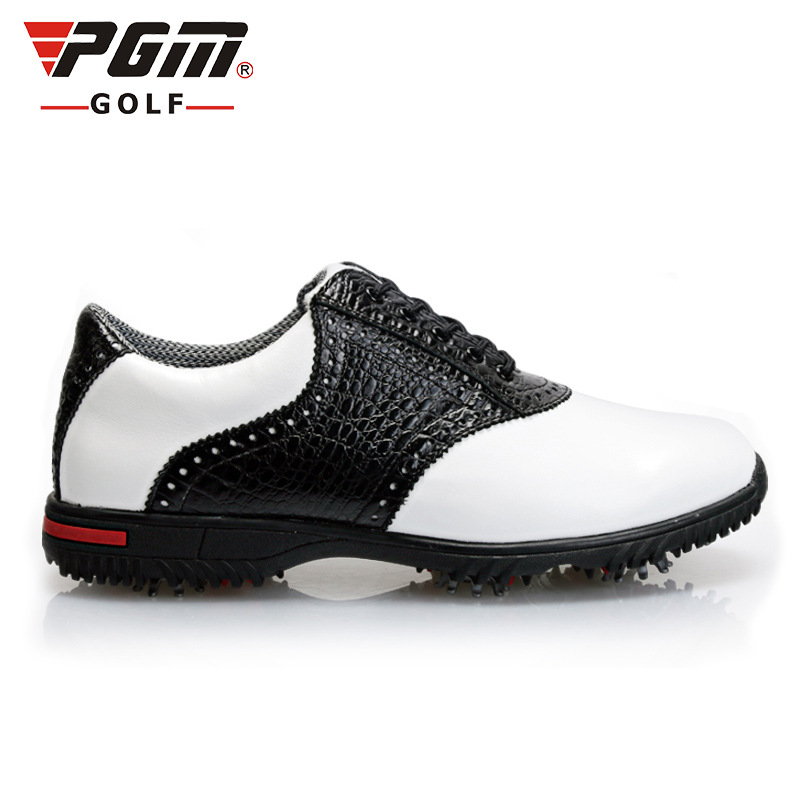 I 2018 The New Golf First Layer Of Leather Gummi Base Aktiviteter Nail Shoes Sports Shoes Vanntett Innersåle Soft Wear