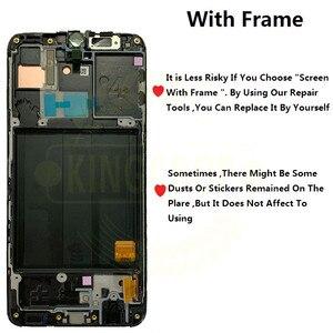 """Image 2 - 5.9 """"Samsung Galaxy A40 LCD A405 A405F A405FN/D A405DS ekran dokunmatik ekran ile çerçeve Samsung için dijitalleştirici montajı A40 LCD"""