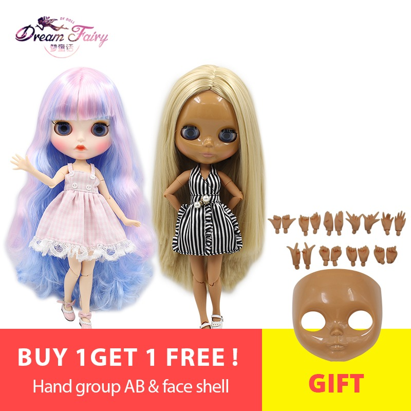 Dolls Creative Free Shipping Factory Fashion Full Set Plump Icy Doll 4 Colors For Eyes Suit For Diy Mint Green Short Hair With Bangs Icy Suit To Have A Unique National Style