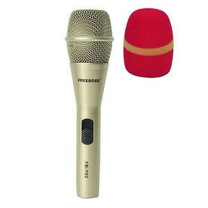 Image 1 - FREEBOSS FB Y02 رائجة البيع عالية الجودة المهنية السلكية ميكروفون لحزب هيئة التصنيع العسكري Karoke KTV