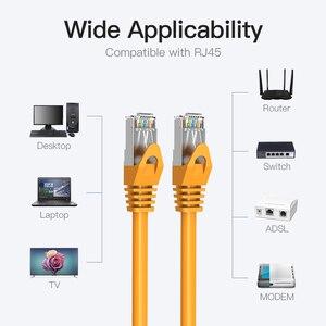 Image 5 - Vention Ethernet כבל CAT6 Lan כבל RJ45 תיקון כבל כבל מסוכך שזור רשת Ethernet עבור מחשב נתב כבל Ethernet