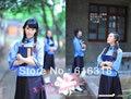 Descuento especial estilo chino tradicional trajes de danza folclórica república de China período chica estudiante de la ropa del desgaste para mujeres