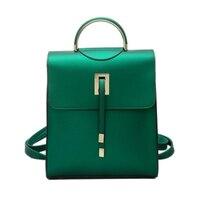 Omuz çantası kızlar katlanmış 2018 yeni vahşi püskül küçük sırt çantası moda İngiliz kolej rüzgar eğlence çantası 1001