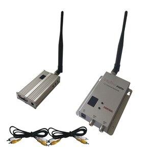 200 км LOS FPV/UAV видео передатчик беспроводной 1200 МГц междугородний AV передатчик и приемник 2500 мвт RF
