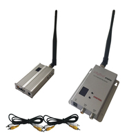 200km LOS FPV/ UAV Video Transmitter Wireless 1200Mhz Long Distance AV Transmitter and Receiver 2500mW RF