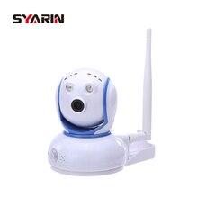 SYARIN Monitor Do Bebê HD 720 P 1.0MP Câmera IP Wi-fi Sem Fio Dois Way Áudio Alarme de Detecção de Movimento Wi-fi Slot Para Cartão de TF Câmera Pan/Tilt