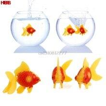 3 pc aquário tanque de peixes plástico natação ouro peixe ornamento decoração artificial # h0vh #
