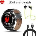 "Lem5 android 5.1 gb + 8 gb mtk6580 smart watch 1 1.39 ""IPS Display OLED Rodada Suporte 3G Wifi Nano cartão sim Smartwatch Telefone"
