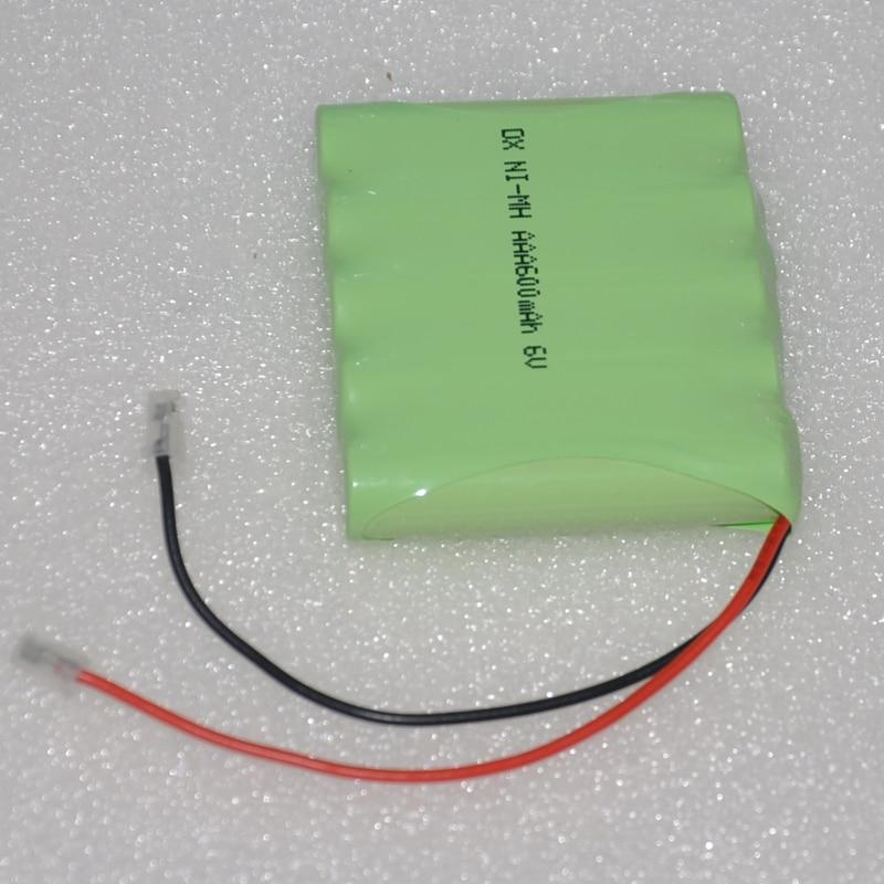 1-4 PCS 6 V AAA batterie rechargeable 600 mah 3A ni-mh nimh batteries NI MH cellulaire pour RC jouets d'urgence lumière sans fil téléphone