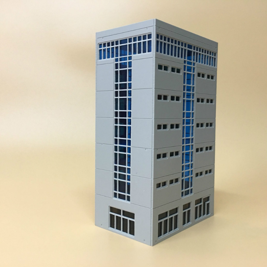 1/150 1/144 1/87n scale plastic assembled house building model for  architecture sand table scene and ho N train layout