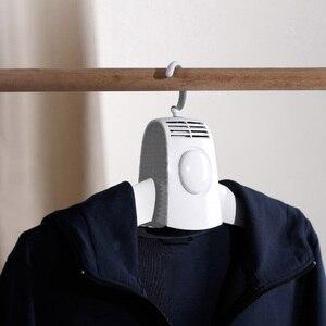 Image 5 - Youpin Điện Mặc Áo Vải Phơi Thông Minh Treo Máy Sấy Quần Áo Di Động Ngoài Trời Mini Du Lịch Gấp Gọn Có Quần Áo Giày Nóng