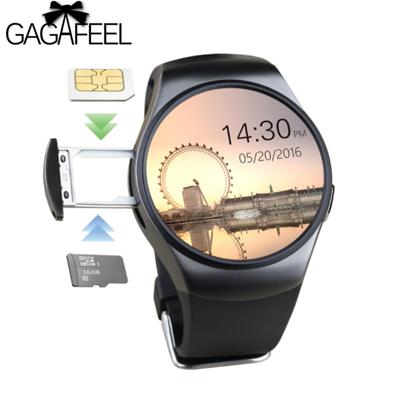 Gagafeel KW18 Smart Watch for Android iOS Smart watches With a Sim Card Bluetooth Phone Heart Rate Monitor Smart watch gagafeel smart watch for men women qs80 bluetooth smart watches fitness heart rate monitor smart bracelet for android ios