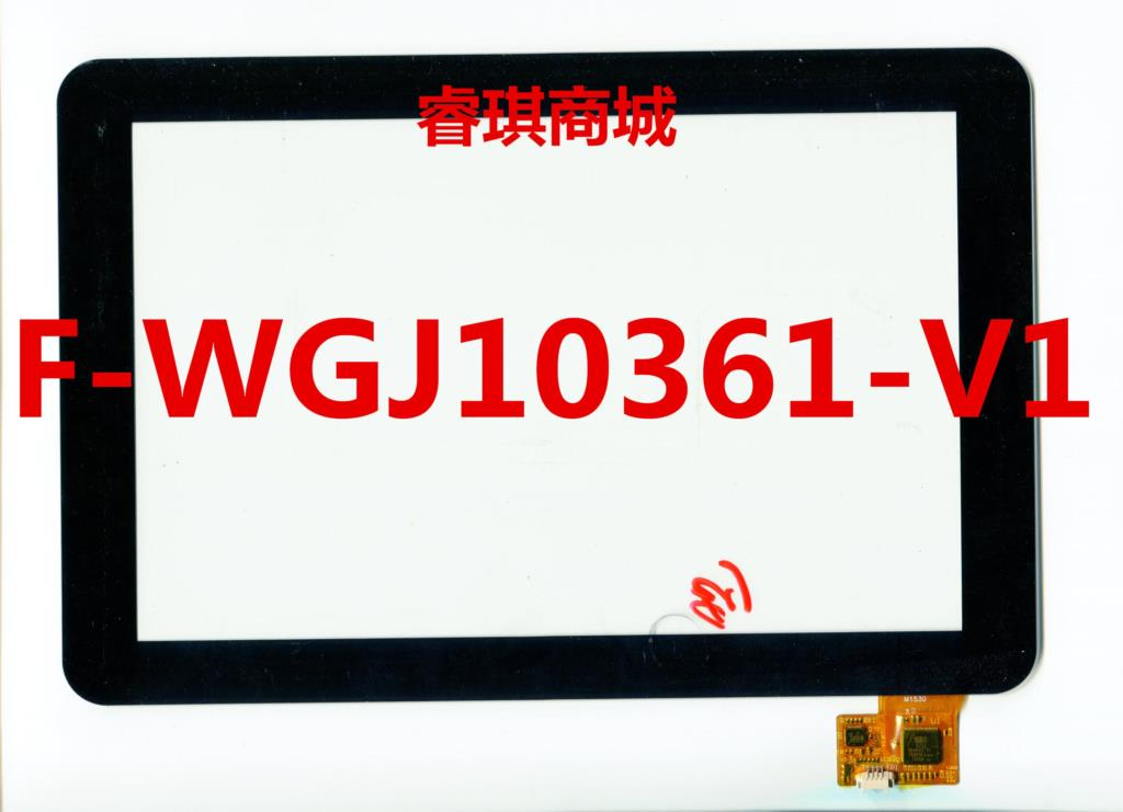 10.1 inch black in stock F-WGJ10361-V1 tablet pc touch screen panel Digitizer Glass sensor replacement F-WGJ10361 WGJ10361
