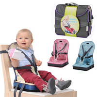 Baby Dining Chair Bag Portable Baby Seat Multifunction Mom Backpack Seat Infant Foldable Feeding High Chair Harness Booster Seat