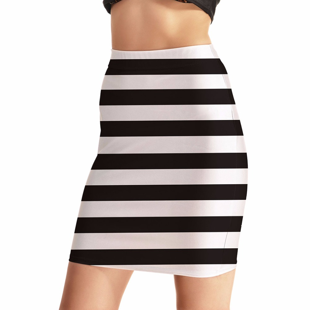 Popular Horizontal Stripe Skirt-Buy Cheap Horizontal Stripe Skirt ...