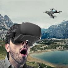 RC Drone Plegable VR Trayectoria de Vuelo FPV Wifi RC Quadcopter 2.4 GHz Control Remoto Dron con hd Cámara Drone VS visuXs809hw JJRC