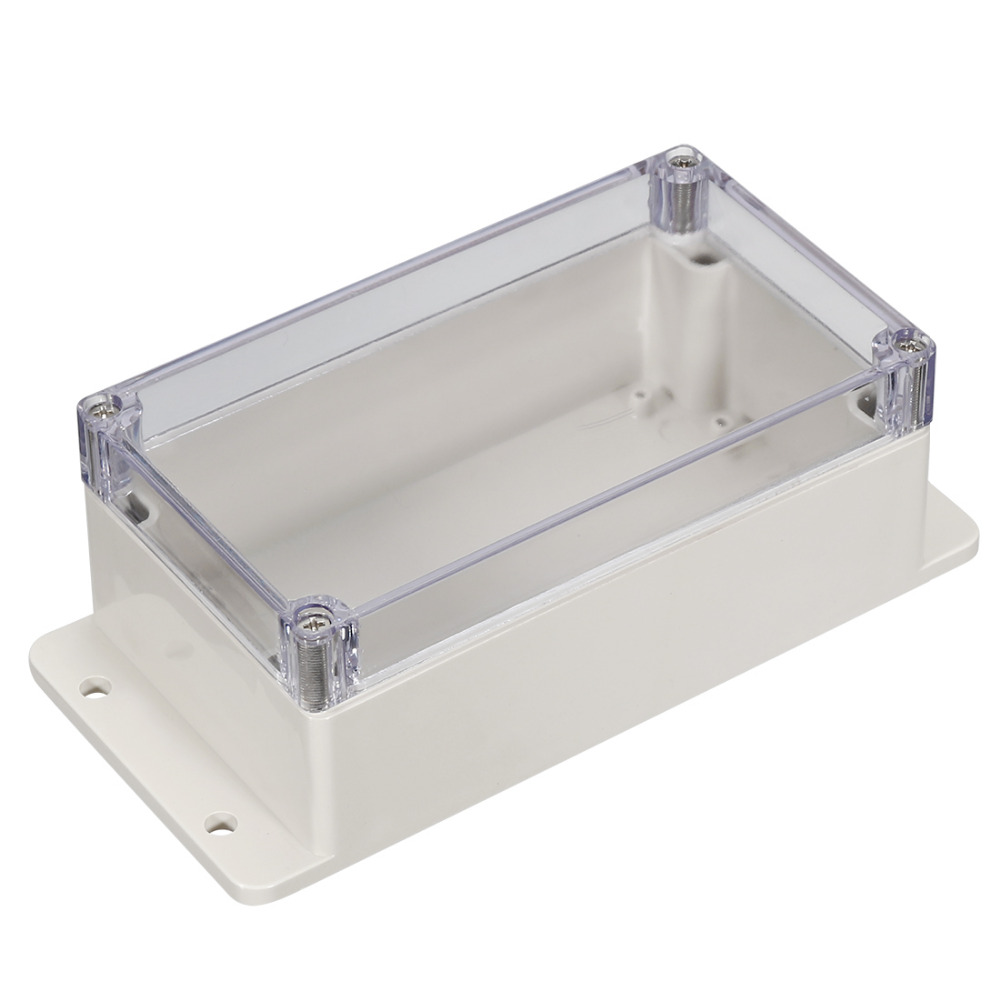 Uxcell 1pcs Plastic Wire Junction Boxes Outdoor Electrical Box Cable Branch Case DIY IP65 Waterproof Terminals Connect Boxes