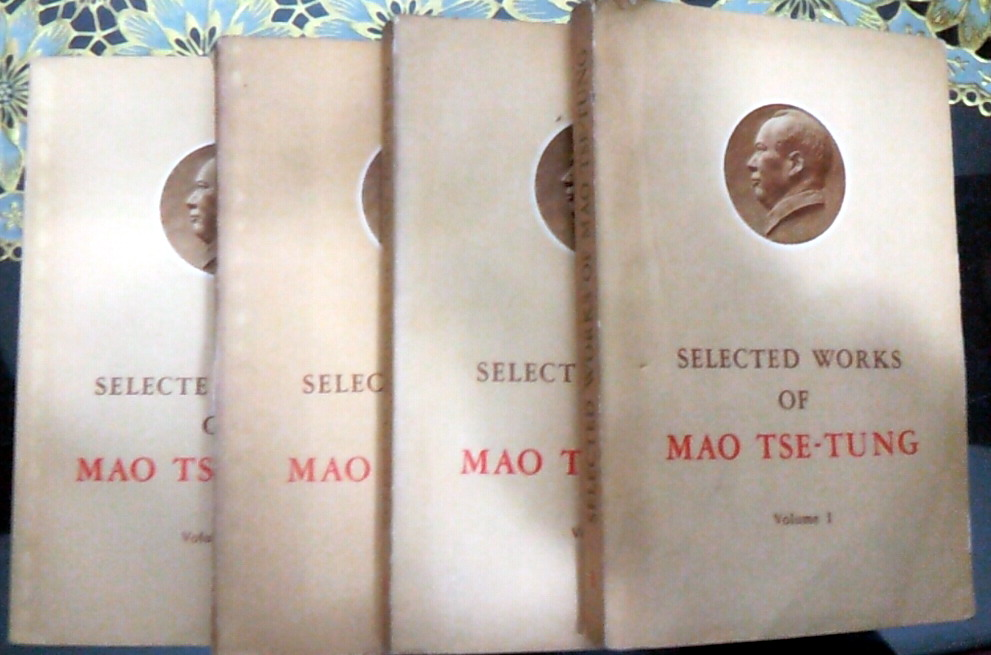 Selected Works Of Mao Tse-Tung Keep On Lifelong Learning As Long As You Live Knowledge Is Priceless And No Border-202