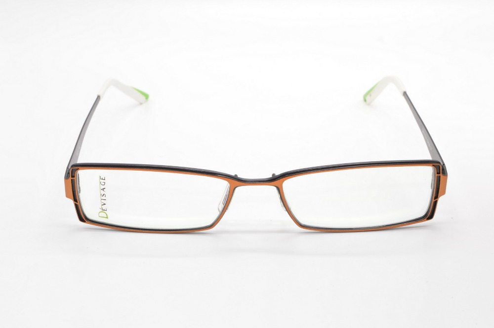 [NARROW FRAME] TITANIUM ALLOY DESIGNER GLASSES FRA...