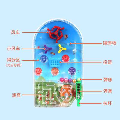Produkty-nowości zabawki Mini instrukcja kulki figurka śmieszne gadżety dla dzieci zabawki piękny prezent żart