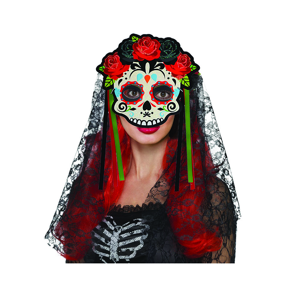 de Muertos Costume Party Wall Deco Day of the Dead Masquerade Mask Mexican D