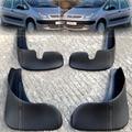 Acessórios 4 pcs fit para 2001-2012 citroen xsara picasso mud flap flaps splash guard mudguards