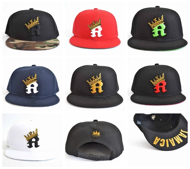 R CROWN camo Snapback hats men cap wholesale styles snapbacks womens  Casquettes gorras bones baseball caps cc89b02b55e