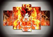 Dragon Ball –  5 Panels – Wall Art (6 types)