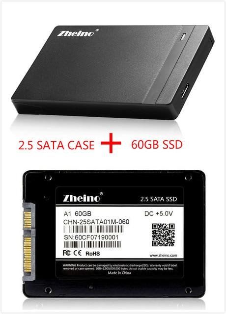 Zheino P1 USB3.0 Внешний SSD-НАКОПИТЕЛЬ 60 ГБ Super Speed 2.5 SATA Solid State Drive Замена Внешний Жесткий Диск диск