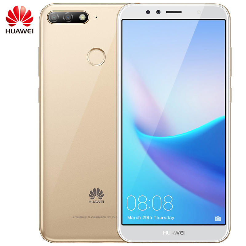Global Rom Huawei Enjoy 8E Android 8 0 Smartphone Dual Rear Camera 5 7 inch MSM8937