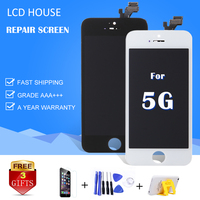 10 PCS For IPhone 5 LCD Display Pantalla Grade AAA Quality Touch Screen Digitizer Assembly Replacement