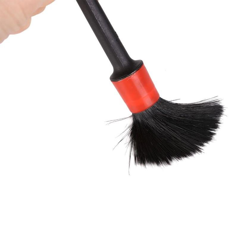 1pc Multi-Functional Auto Interior Washing Detailing Brushes Car Wash Slit Brush Clean Seat Detail Brush