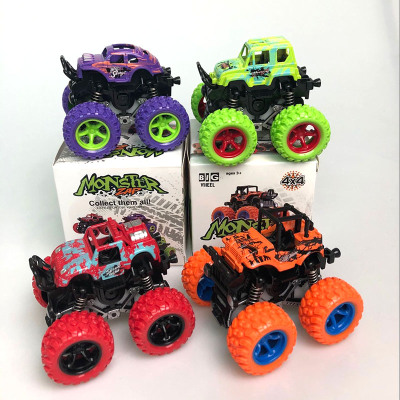 1pcs Toys With Box Monster Machine Cartoon Truck Power Vehicles Baby Boys Super Children Gift Toys Y73 Diecasts Toy Vehicles Aliexpress