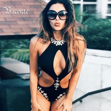 68b324dcf6658 Vicente HOT 2019 New Chic Summer Must Have Elegant Beads Embellished Sexy  Key Hole Wholesale Women · 3 Colors Available