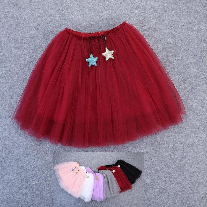 67eb48c1f € 11.32 |1 10Y hermosas faldas mullidas para niñas suave 3 capas tutú de  tul falda para niños bebés niñas saias una falda para todo el año-in ...