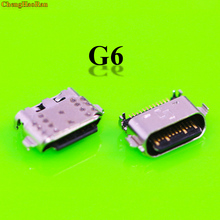 цена на ChengHaoRan 5pcs G6 Micro USB jack for Motorola Moto G6 Charging port Mini USB connector charging socket power plug dock v8 port