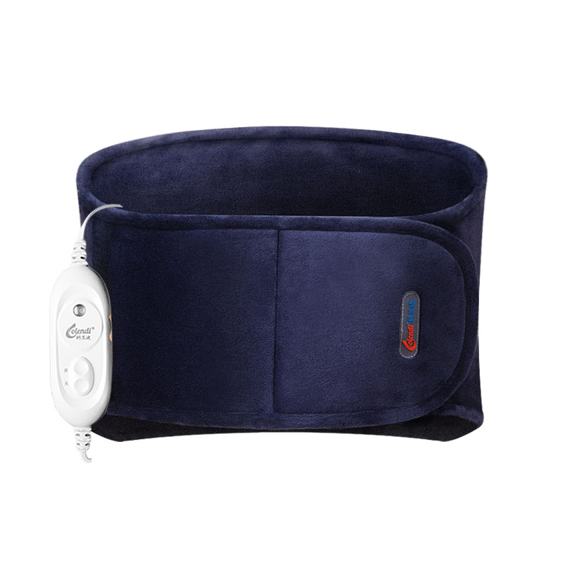 Electric Heating Waist Protector Belt of Lumbar Electro-thermal Keep Warm Waist Uterus Hot Compress Moxibustion Warm Belt electric heating waist belt protector for intervertebral strain lumbar support heating uterus stomach suited for men and women