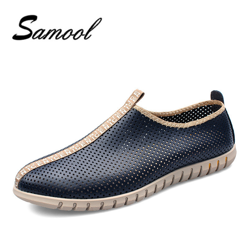 New 2018 Slip-on Summer Shoes Men Sandals Fashion Hollow Out Breathable Beach Classic style Retro Shoes Massage Sandals jx5