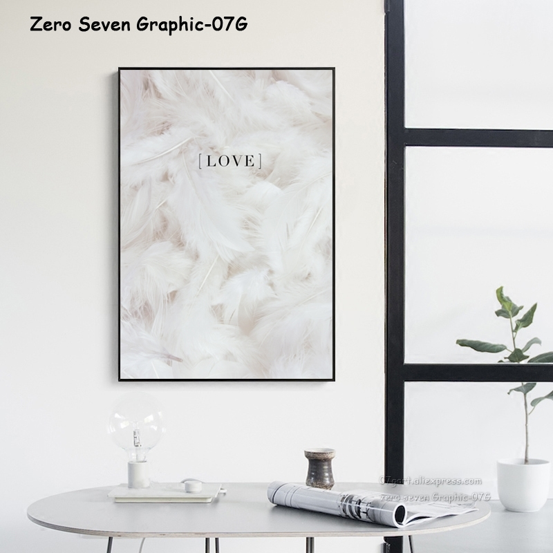 HTB1d33CRSzqK1RjSZFjq6zlCFXaJ Feather Peony Blossom Canvas Painting Posters And Prints Picture Living Room Art Wall Home Decoration