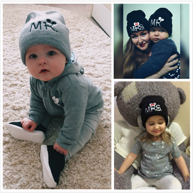 Trendy Mr & Mrs Cool Caps for Infants | Spring 2017 Collection