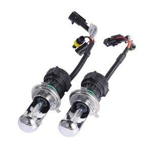 Image 1 - 12 В H4 3 Bi Xenon H4 HID биксенон H4 HID комплект 35 Вт Автомобильный источник света 3000 К 6000 К 8000 К 4300 К 5000 К BI XENON H4 лампы