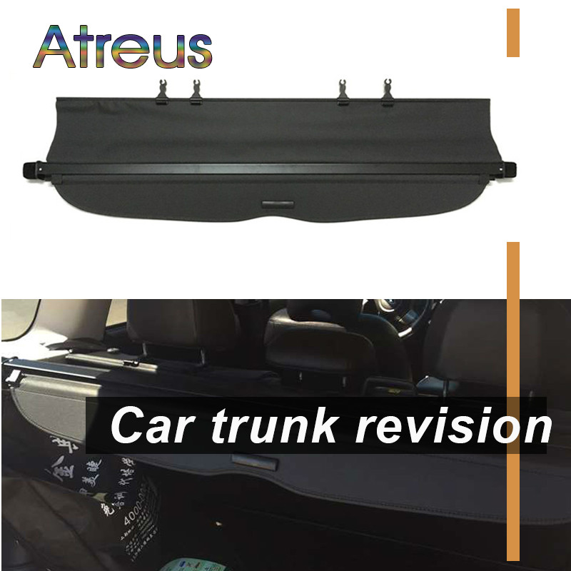 Atreus haute qualité 1 set voiture coffre arrière bouclier de sécurité couverture de cargaison pour Subaru Forester 2009 2010 2011 2012 accessoires
