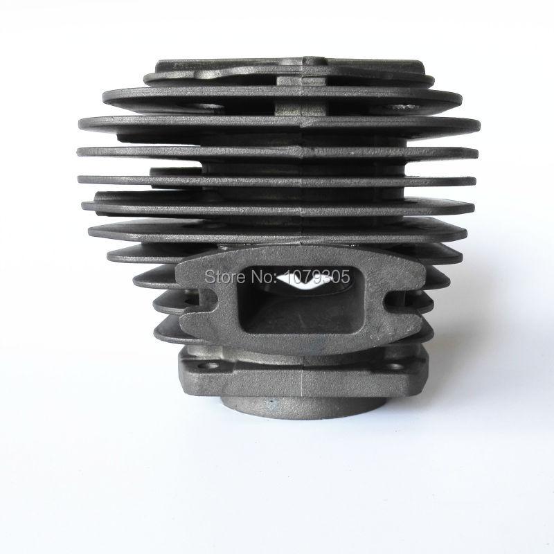 Kit cilindro a due canali 52cc per motosega e pistone diametro 45mm - Attrezzi da giardinaggio - Fotografia 4